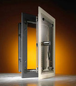 Door for tile stoves TWINSTAR GLASS - WGS